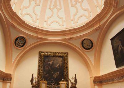 Celda de Santa Teresa convertida en oratorio