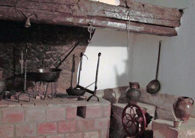 Cocina antigua Convento descalzas Soria